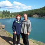 Barb and Dave at Miles Canyon, YK